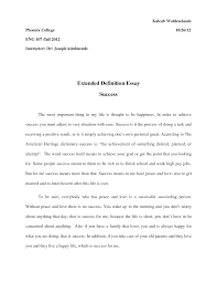 definition essay on success com best solutions of definition essay on success also resume sample