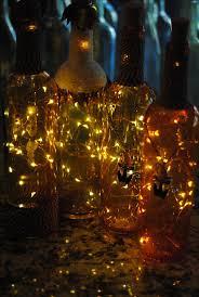 Halloween Fall Lighted Liquor Bottles