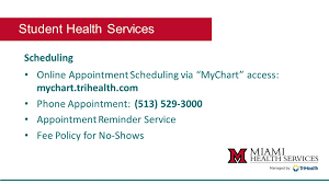 Student Orientation Student Health Services Health Services