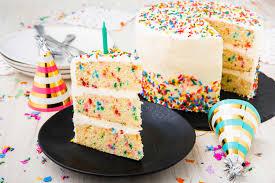 Best Funfetti Cake Recipe How To Make Homemade Funfetti Birthday Cake