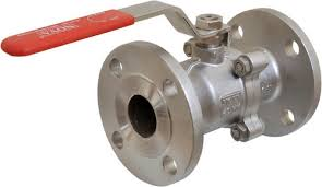 <b>Stainless Steel 316 1 PC</b> Flanged End Ball Valve - Suresh Industries ...