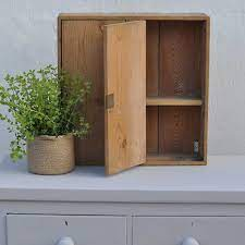vintage pine wall cupboard home barn