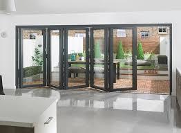 supreme 5m grey aluminium bi fold doors