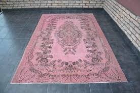 overdyed pink rug free ship light floor traditional wool by on persian overdyed pink rug turkish wool light