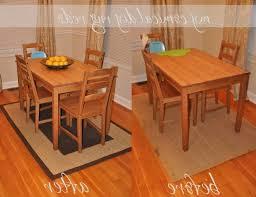 rug under kitchen table. Rug Under Kitchen Table E