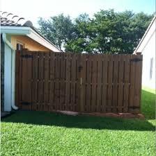 double fence gate. 10 Mar Large Double Wood Gate \u2013 Davie, FL Fence -