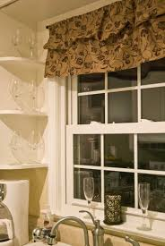 Kitchen Drapery Curtains For Kitchen Windows Kitchen Window Treatments Country