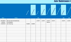Car Maintenance Chart Auto Maintenance Chart