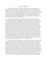 two essay compare two essay