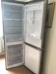 samsung fridge freezer. samsung fridge freezer rb31fejndsa 1 year old - selling due to new kitchen with integrated a