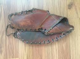 wilson a2682 topper left handed 12 super vintage 1950 s leather glove baseball gloves mitts sidelineswap