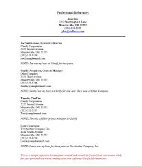 reference sheet resumes