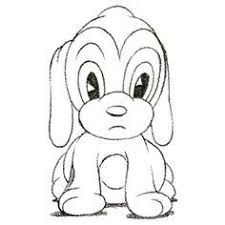 Small Picture DrawingsofCartoonAnimals Draw Cartoon Puppy Very cute