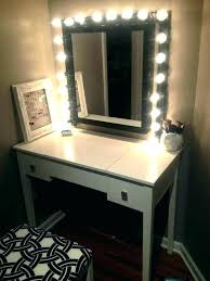 makeup mirror target vanity led bathroom shelves new o kitty