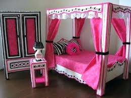 Barbie Bedroom Set Monster High Doll Inspired By On Up – Creator ...