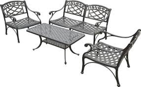 Aluminum patio furniture Garden Crosley Furniture Sedona Ezvid Wiki Top 10 Cast Aluminum Patio Furniture Of 2019 Video Review