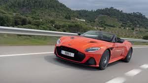 Britischer Sportwagen Aston Martin Dbs Superleggera Kommt Im Herbst Als Cabrio