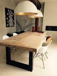 dining table. will be bringing our live edge table + dsw style chairs. dining