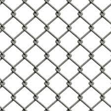 chain link fence. Line Wire Included With This Chainlink Fence. Chain Link Fence T