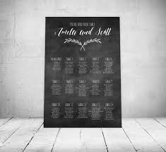 Chart Westcott Wedding Rustic Chalkboard Wedding Seating Chart Magnolia Branch Seating Chart Wedding Seating Digital File Seating Plan By Table Number