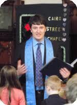 Cairo Street Chapel, Warrington: Our Minister