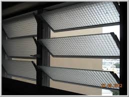 two panel louvre window