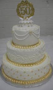 50th Anniversary Cupcake Decorations Wedding Cake Flavors And Fillings Cakes By Mary Ann 50th