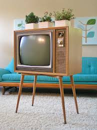 1950 s zenith tv black and white tapered legs mid century sleekandsimplelines