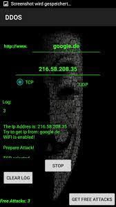 DDOS für Android - APK herunterladen