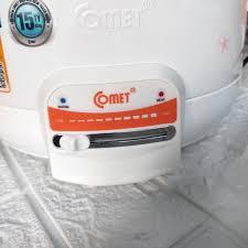 Nồi lẩu điện Comet CM7732 3.5 lít công suất 1300w có xửng hấp - Nồi lẩu điện