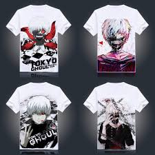 T Shirt Design Tokyo Tokyo Ghoul White Print T Shirts 19 Styles