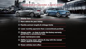 buy lease cars benefits of buying vs leasing a new audi car audi kirkwood