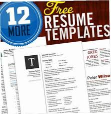 Free Cool Resume Templates Extraordinary Sample Resume Free Creative Resume Templates Microsoft Word