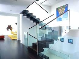 square glass stair railing cost sleek railings for the stairs s staircase malaysia