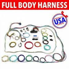 usa auto harness wrm235213 1964 1969 plymouth barracuda wire usa auto harness wrm235213 1964 1969 plymouth barracuda wire harness upgrade kit fits painless new