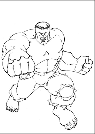 Kleurplaten En Zo Kleurplaten Van Hulk