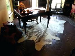 ikea cowhide rug real or fake zebra small genuine print cow hide rugs 7 5 x