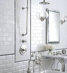 Traditional Contemporary Bathrooms Bathroom Color Crackle Subway