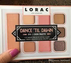 high quality lorac cosmetics dance til dawn 8 colors eye cheek palette cosmetics dhl free