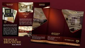 make tri fold brochure create a tri fold real estate brochure photoshop tutorial youtube