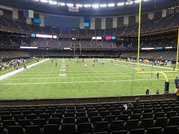 Mercedes Benz Superdome View From Plaza Level 101 Vivid Seats