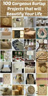 Burlap Crafts 100 Gorgeous Burlap Projects That Will Beautify Your Life Diy