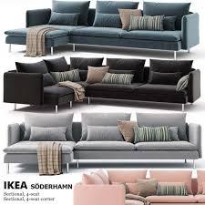 corner sofas ikea. Contemporary Sofas Corner Sofas Ikea SODERHAMN 3D Model Inside Sofas U