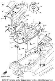 yamaha wave blaster ii wbu oem parts babbitts yamaha engine hatch 1