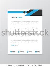 Professional Letterhead Templates Awesome Professional Letterhead Templates Stock Vector Royalty Free