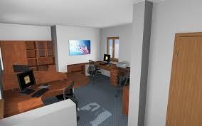 interior of office. The Office Room In ArCon Render Studio Interior Of