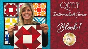 Learn to Quilt Intermediate Block One   a Shabby Fabrics Quilting ... & Learn to Quilt Intermediate Block One   a Shabby Fabrics Quilting Tutorial Adamdwight.com
