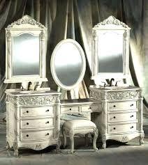 bedroom vanity sets white. Oak Bedroom Vanity Sets Traditional Intended For Set Decorating White