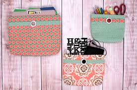 wall pocket organizers tutorial out