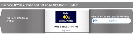 Jpmiles Upgrade Chart Get A 40 Bonus When You Buy Jpmiles Live From A Lounge